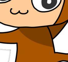 Climbing Monkey Sticker