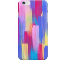 Vertical Watercolor Abstract Vivid Colorful Pop iPhone Case/Skin