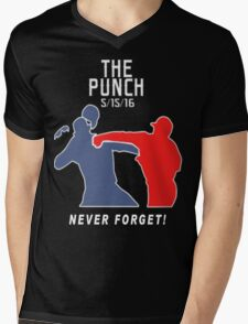 The Punch - Never Forget Mens V-Neck T-Shirt
