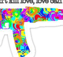 Heart Gun Sticker