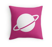 Legion of Super-Heroes; Saturn Girl Throw Pillow