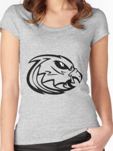 Amrical flag eagle amrical flag and eagleEagle Women's Fitted Scoop T-Shirt
