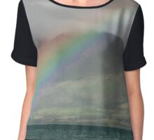 Rainbow Hill - Queenstown New Zealand Chiffon Top
