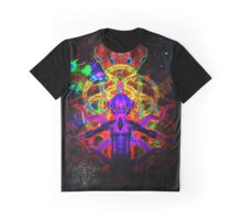 Cosmic Tentacle Screamer Graphic T-Shirt
