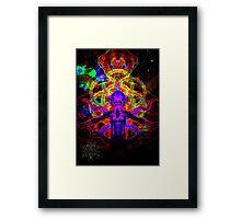 Cosmic Tentacle Screamer Framed Print