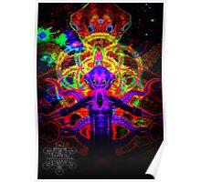 Cosmic Tentacle Screamer Poster
