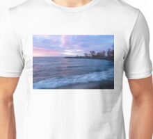 Soft and Rough - Colorful Dawn on the Lakeshore Unisex T-Shirt