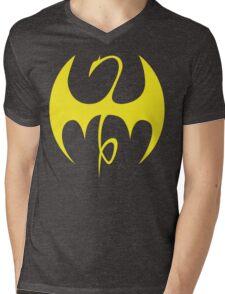 Iron Fist - Yellow Mens V-Neck T-Shirt