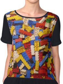 Lots of Lego Chiffon Top