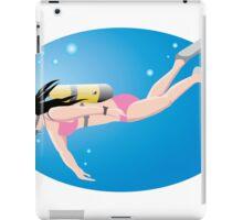 Surfing sport cartoon art iPad Case/Skin