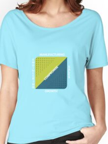Conjoined Triangles of Success - Silicon Valley Women's Relaxed Fit T-Shirt