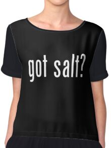 Supernatural - Got Salt? Chiffon Top
