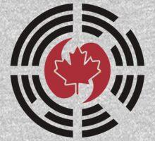 Korean Canadian Multinational Patriot Flag Series Kids Tee