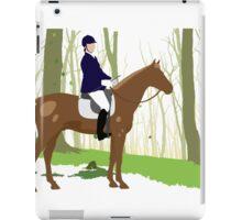 Equestrian sport iPad Case/Skin