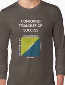 Conjoined Triangles of Success - Silicon Valley Long Sleeve T-Shirt
