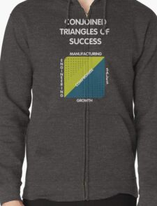 Conjoined Triangles of Success - Silicon Valley Zipped Hoodie