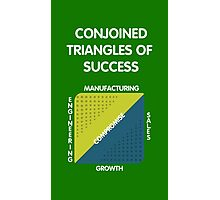 Conjoined Triangles of Success - Silicon Valley Photographic Print