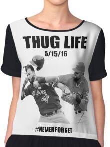 Thug Life 2 Chiffon Top
