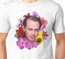 Steve Buscemi - Floral Unisex T-Shirt