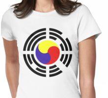 Korean Flag 2.0 Womens Fitted T-Shirt