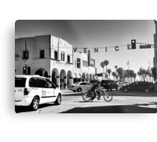 Cruising Pacific Avenue - Venice Beach California USA Metal Print