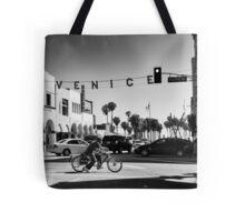 Cruising Pacific Avenue - Venice Beach California USA Tote Bag