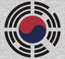Korean Flag 1.0 Kids Tee