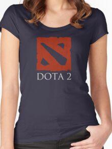 DOTA 2 - Logo Women's Fitted Scoop T-Shirt