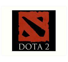 DOTA 2 - Logo Art Print