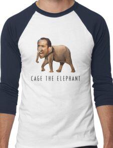 Nicolas Cage The Elephant Men's Baseball ¾ T-Shirt