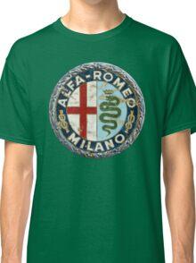 ALFA ROMEO RETRO BADGE Classic T-Shirt