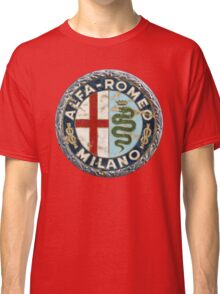 ALFA ROMEO RETRO BADGE Classic T-Shirt