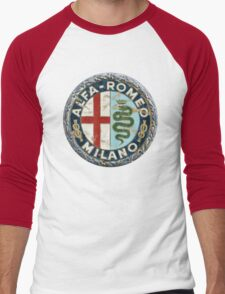 ALFA ROMEO RETRO BADGE Men's Baseball ¾ T-Shirt