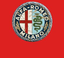 ALFA ROMEO RETRO BADGE Unisex T-Shirt