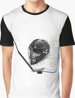 Ice hockey sports equipment Graphic T-Shirt