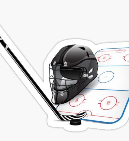 Ice hockey sports equipment Sticker