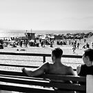 Sunshine and Entertainment - SantaMonica USA by Norman Repacholi