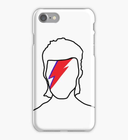 Bowie: Aladdin Sane iPhone Case/Skin