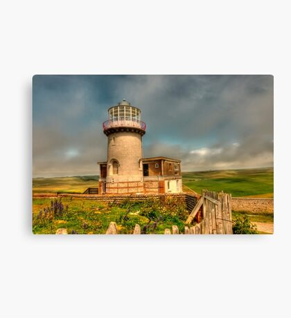Belle Tout and the South Downs Canvas Print