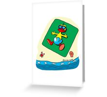 """Rick the chick """"SUMMER DAYS"""" Greeting Card"""