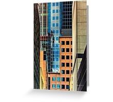 Melbourne Cityscape by Gaye G Greeting Card