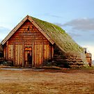 Sod Roofed Wooden Chapel by Caleb Ward