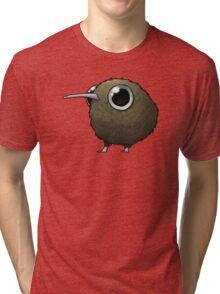 Cute Fat Kiwi Tri-blend T-Shirt