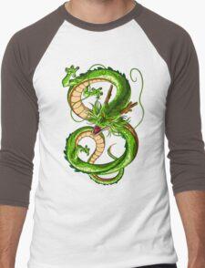 Shenron Men's Baseball ¾ T-Shirt
