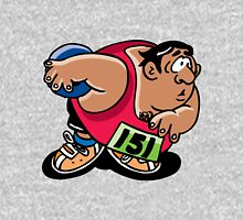 Hammer throw sport cartoon art Unisex T-Shirt