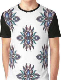Abstract symmetric pattern. Vector illustration print Graphic T-Shirt
