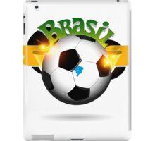Brazil soccer ball iPad Case/Skin