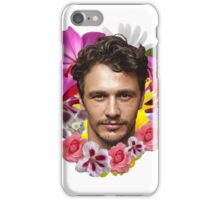 James Franco - Floral iPhone Case/Skin