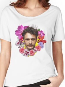 James Franco - Floral Women's Relaxed Fit T-Shirt
