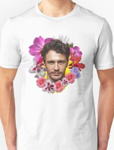 James Franco - Floral Unisex T-Shirt
